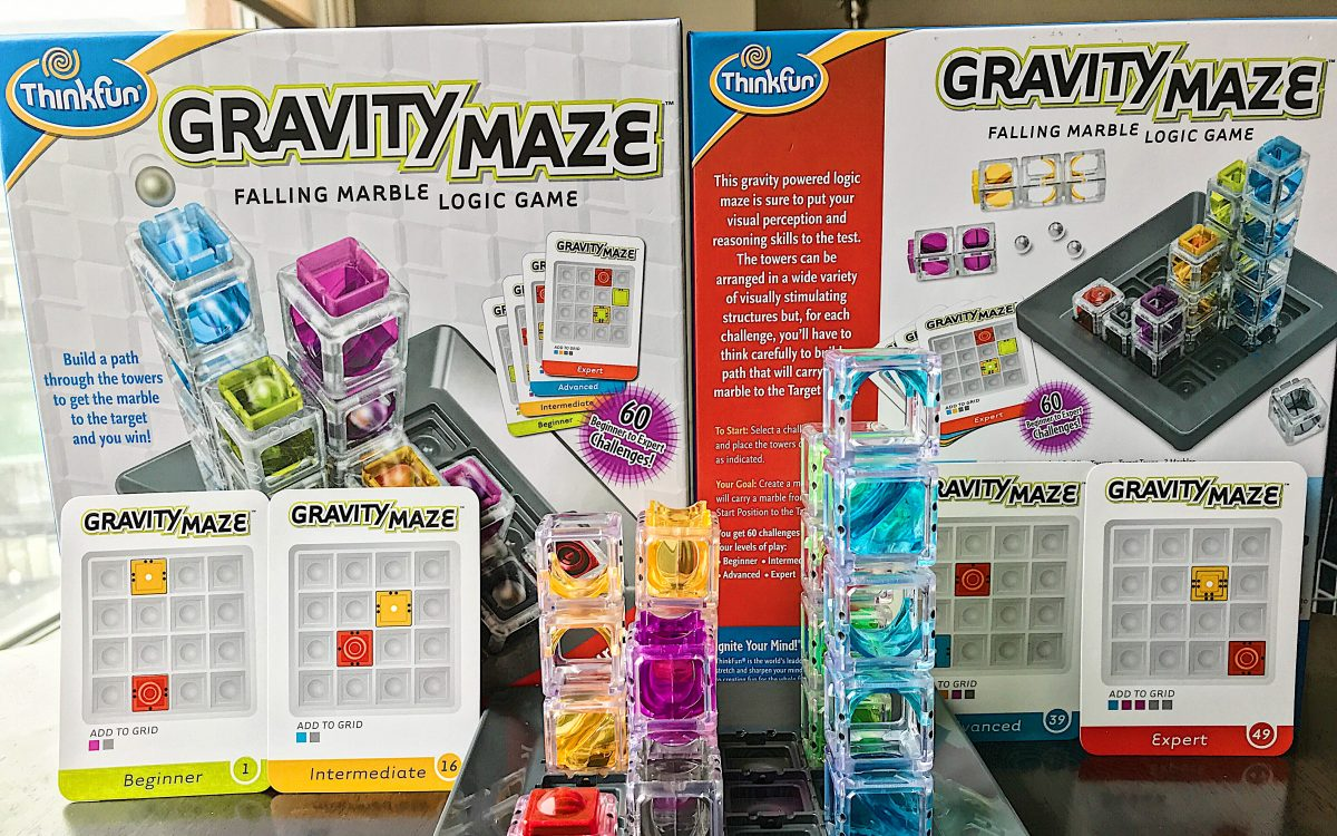 Gravity Maze Toy Circuit Mazeelectric Current Logic Game Brain Teaser Amazing Toys Thinkfun Inc 1200x750