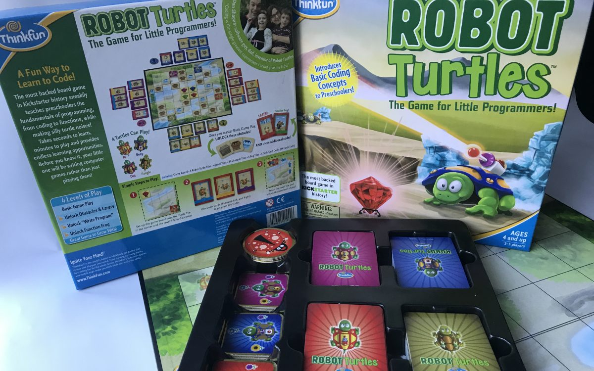 Robot Turtles STEM Toy and Coding Board Game - Brain Game Toys