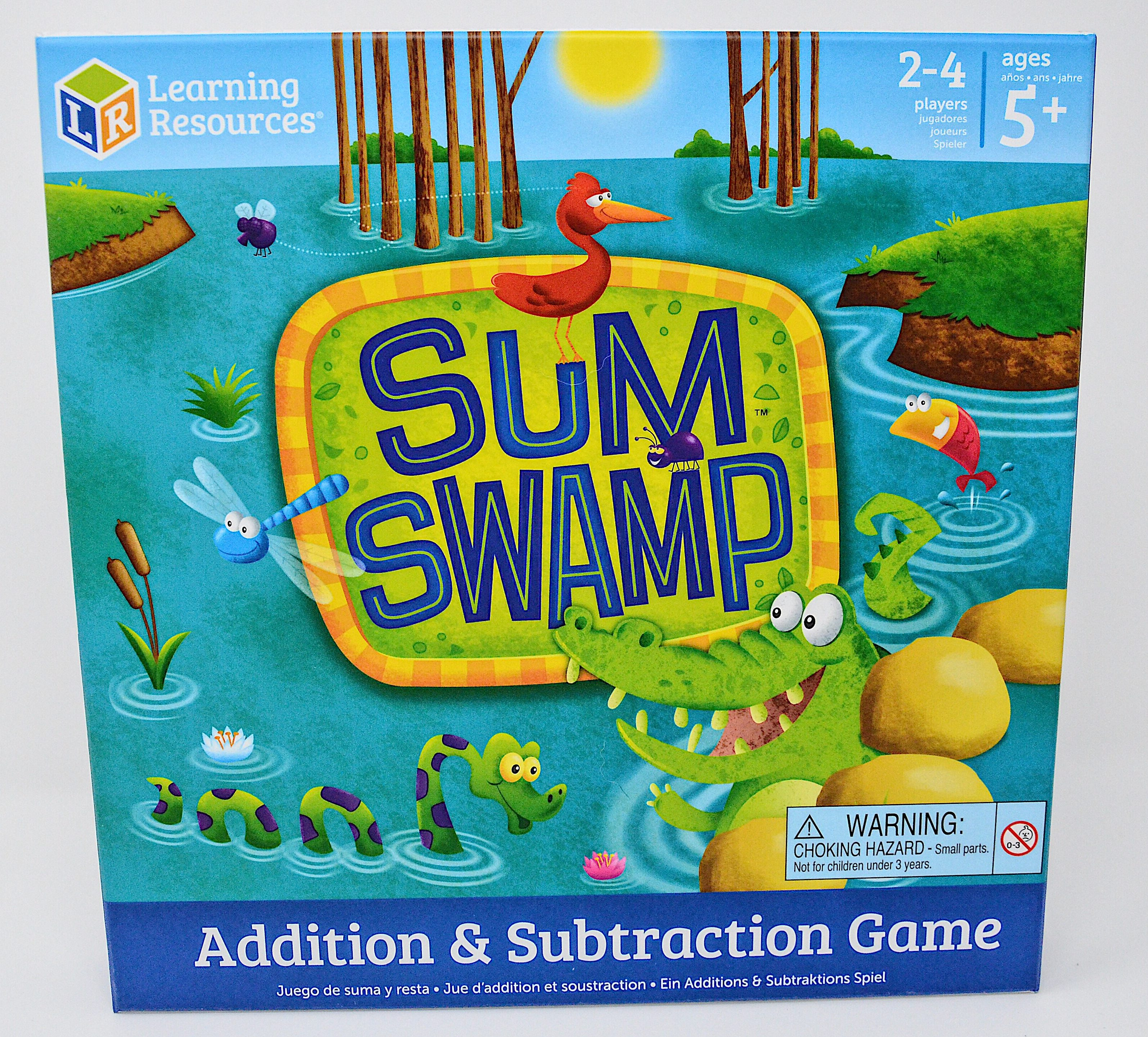 Front Sum Swamp Board Game